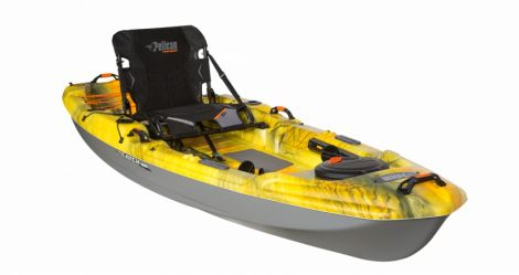 PELICAN KAYAK THE CATCH 100 HALO/MAGNETIC GREY 10 PIES
