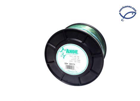 ANDE LINEA 30 LBS/1600 YDS, DIA. .022 PULGADAS VERDE