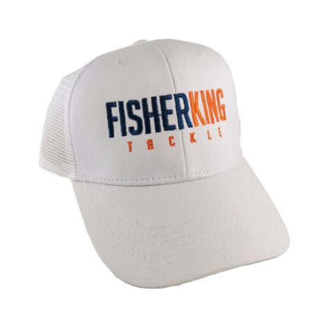 FISHER KING GORRA COLOR BLANCA