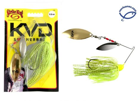 STRIKE KING SPINNERBAIT KVD FINESSE FSB12WW