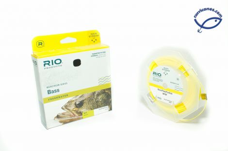 RIO FLY LINE MAINSTREAM BASS WEIGHT FORWARD FLOATING