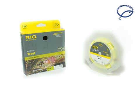 RIO FLY LINE AVID TROUT WEIGHT FORWARD FLOATING WF3F #3