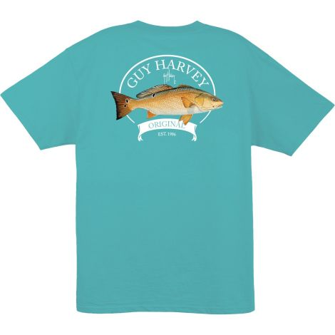 GUY HARVEY PLAYERA MANGA CORTA ONE MTH61382-MRN BIG RED