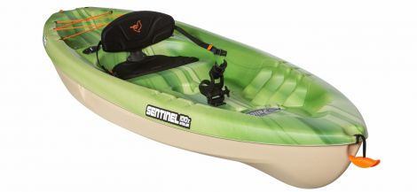 PELICAN KAYAK SENTINEL 100X ANGLER FADE GREEN-SAND/SAND 10 PIES