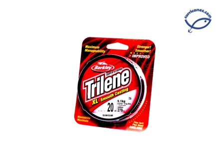 BERKLEY LINEA TRILENE XL XLFS17-15, 17 LBS/300 YDS, DIA. .015 PULGADAS CLEAR