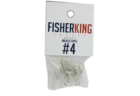 FISHER KING GRANPINES REFORZADOS #4 (5 PIEZAS)