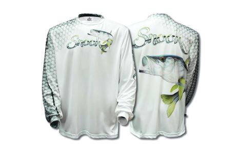 BIG FISH JERSEY MANGA LARGA SNOOK SCALES WHITE