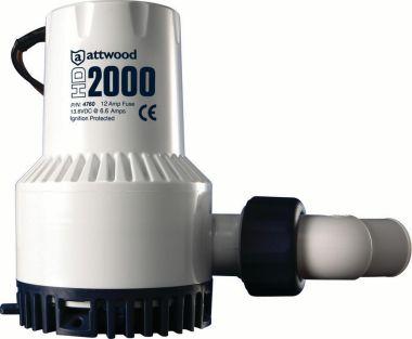 ATTWOOD BOMBA DE ACHIQUE HD 2000 GPH, 24 VOLTS MOD. 4770-4