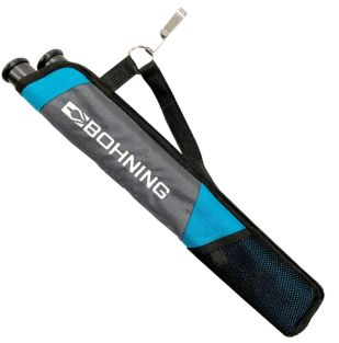 BOHNING TUBE QUIVER YOUTH GRAY/TEAL AMBIDIESTRO 701029GYTL