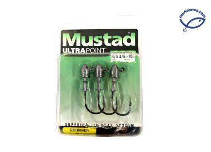 MUSTAD JIGHEAD BULLET ELITE 2X STRONG BUH824