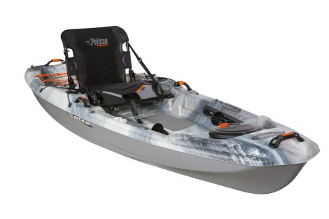 PELICAN KAYAK THE CATCH 100 GRANITE/MAGNETIC GREY 10 PIES