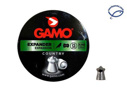 GAMO DIABOLO EXPANDER CAL. 4.5 (250 PIEZAS)