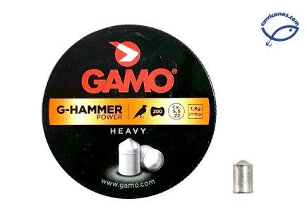 GAMO DIABOLO G-HAMMER POWER HEAVY CAL. 5.5 (200 PIEZAS)