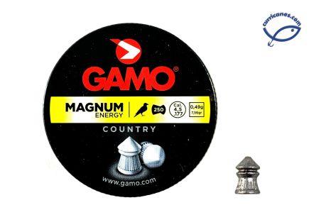 GAMO DIABOLO MAGNUM ENERGY CAL. 4.5 (250 PIEZAS)