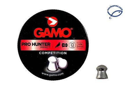 GAMO DIABOLO PRO HUNTER IMPACT CAL. 5.5 (250 PIEZAS)