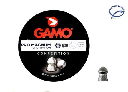 GAMO DIABOLO PRO MAGNUM CAL. 4.5 (250 PIEZAS)