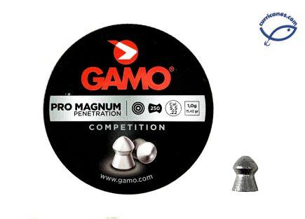 GAMO DIABOLO PRO MAGNUM CAL. 5.5 (250 PIEZAS)