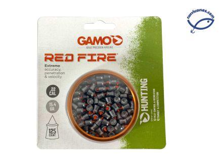 GAMO DIABOLO RED FIRE CAL 5.5 (125 PIEZAS)