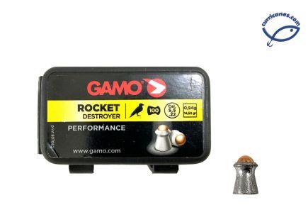 GAMO DIABOLO ROCKET DESTROYER CAL 5.5 (100 PIEZAS)