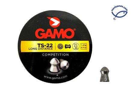 GAMO DIABOLO LARGA DISTANCIA TARGET TS-22 (200 PIEZAS)