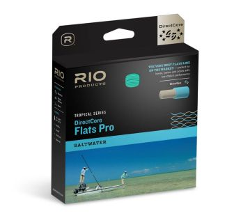 RIO FLY LINE DIRECTCORE FLATS PRO WEIGHT FORWARD FLOATING
