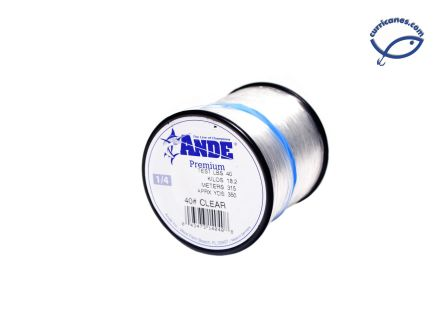 ANDE LINEA 15 LBS/750 YDS, DIA. .016 PULGADAS CLEAR