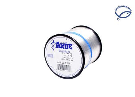 ANDE LINEA 40 LBS/350 YDS, DIA. .024 PULGADAS CLEAR