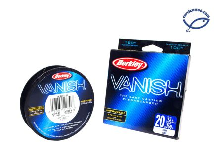 BERKLEY LINEA VANISH 8 LBS/250 YDS, DIA. .010 PULGADAS CLEAR