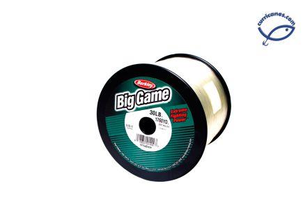 BERKLEY LINEA TRILENE BIG GAME 15 LBS/3600 YDS, DIA. .015 PULGADAS CLEAR