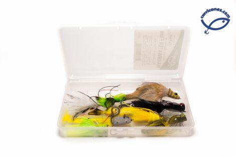 RAINYS KIT DE MOSCAS WARMWATER BASS & PIKE IFL915-PK (12 PIEZAS)