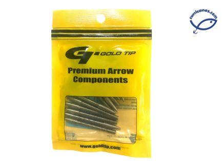 GOLDTIP PUNTAS PRACTICA ACCUPOINT SMALL 100GR MOD. GLUAP166S10012 (12 PIEZAS)