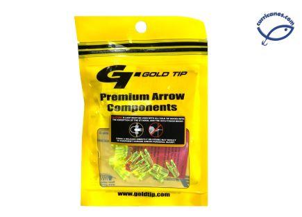 GOLDTIP NOCK MINI HD FLO GREEN MOD. NOCKMPFG12 (12 PCS)