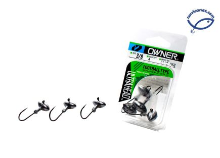 OWNER FOOTBALL JIG HEAD 5143