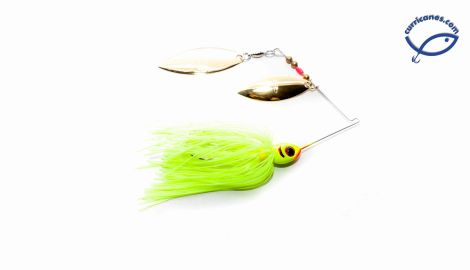 BOOYAH SPINNER DOUBLE WILLOW BLADE 3/8 OZ BYBW38
