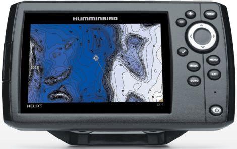 HUMMINBIRD GPS HELIX 5 (UNICAMENTE GPS)