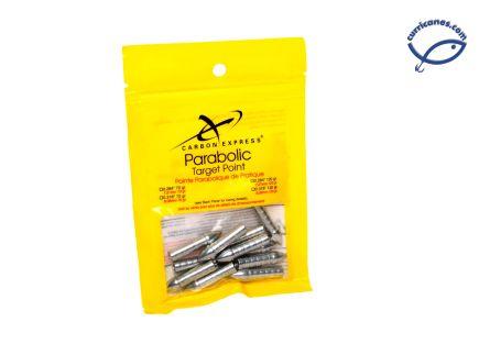 CARBON EXPRESS PUNTAS PARABOLIC TARGET, 0.348, W4107 (12 PIEZAS)