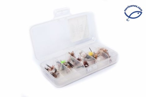 RAINYS KIT DE MOSCAS DRY FLIES IFL901-PK (30 PIEZAS)