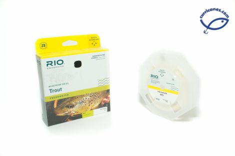 RIO FLY LINE MAINSTREAM TROUT WEIGHT FORWARD INTERMEDIATE