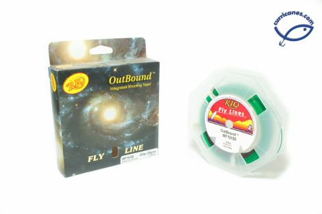 RIO FLY LINE OUTBOUND WEIGHT FORWARD INTERMEDIATE/SINKING TIPO 8