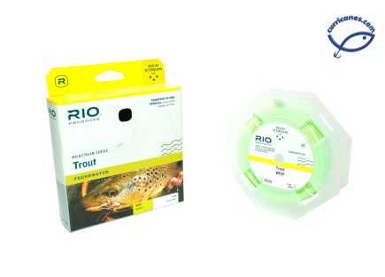 RIO FLY LINE MAINSTREAM TROUT WEIGHT FORWARD FLOATING