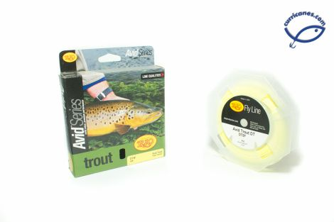 RIO FLY LINE AVID TROUT DOUBLE TAPER FLOATING