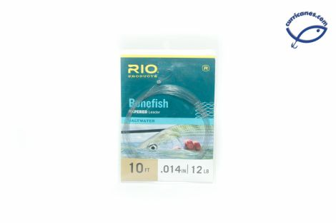 RIO KNOTLESS BONEFISH LEADER 10 PIES