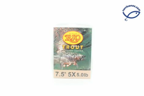 RIO LIDER TROUT KNOTLESS 7.5 PIES