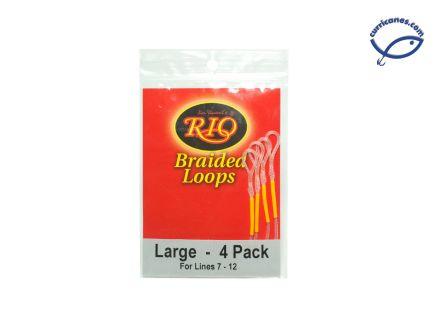 RIO BRAIDED LOOPS LINES 7-12 (4 PIEZAS)