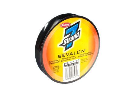 SEVEN STRAND LIDER DE ACERO SEVALON CUBIERTO CON NYLON 30 PIES