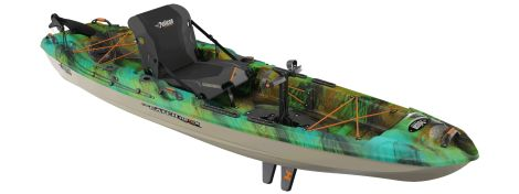 PELICAN KAYAK THE CATCH 110 HDII HYDRYVE II 10 1/2 PIES