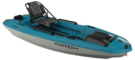 PELICAN KAYAK THE CATCH 100 POWER TURQUOISE/METALLIC SILVER