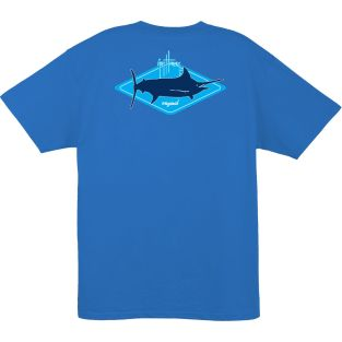 GUY HARVEY PLAYERA MANGA CORTA MTH61380-IMBL KITE LOGO