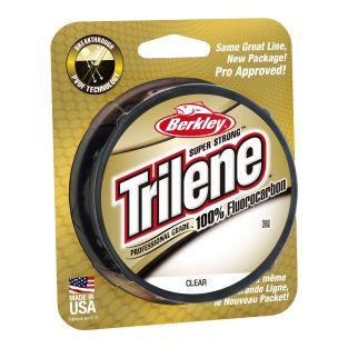 BERKLEY LINEA TRILENE 100% FLUORO PROFESSIONAL GRADE TLFFS12-15, 12 LBS/200 YDS.