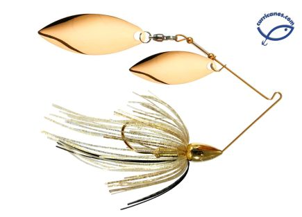 WAR EAGLE SPINNERBAIT GOLD WILLOW/WILLOW 3/4 OZ WE34GW